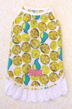 画像1: レモン柄キャミワンピ・3号