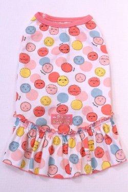 画像1: ボンボン☆シープ柄Tワンピ(ピンク)・4号