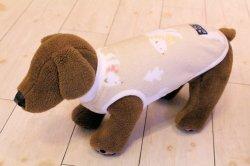 画像4: シロクマ柄 マイクロフリースタンク(ベージュ)・3号